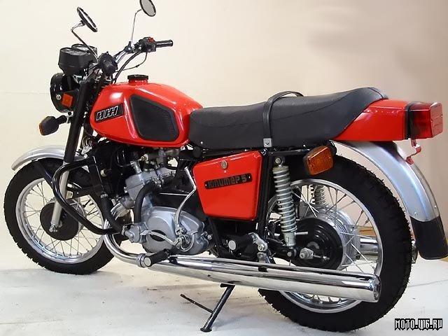 История мотоциклов иж